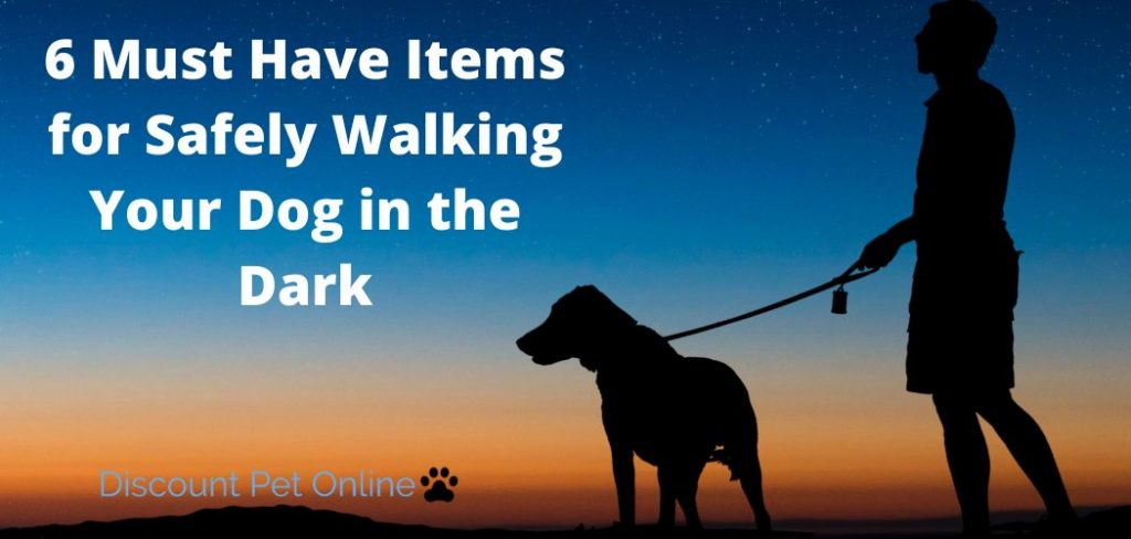 6 Must Have Items for Safely Walking Your Dog in the Dark