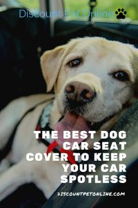 The Best Dog Car Seat Cover to Keep your Car Spotless